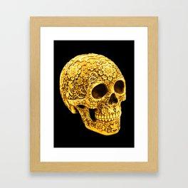 For the Love of Gold Framed Art Print