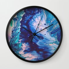 Aquatic Meditation Wall Clock