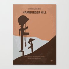 No428 My Hamburger Hill minimal movie poster Canvas Print