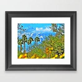 Californian Landscape Framed Art Print