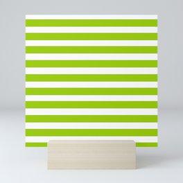 marinière mariniere Green version Mini Art Print