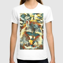 AnimalArt_Raccoon_20170901_by_JAMColorsSpecial T-shirt