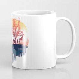 Nature And City Coffee Mug