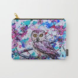 Little Owls version 3 Carry-All Pouch