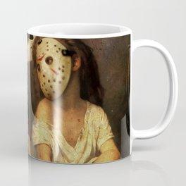 Freddy Krueger vs Jason Voorhees - Friday 13th Kids Coffee Mug