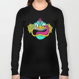 Monster Dragon Face Long Sleeve T-shirt