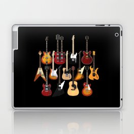 Too Many Guitars! Laptop & iPad Skin