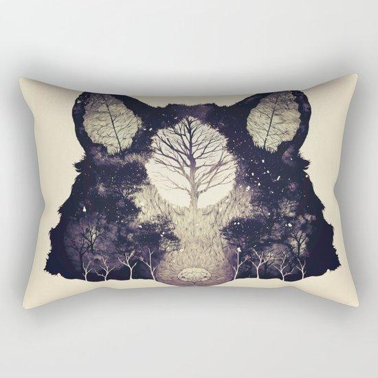Forest Whisper (alt.) Rectangular Pillow