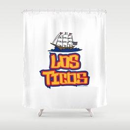 Costa Rica Los Ticos ~Group E~ Shower Curtain
