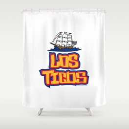 Costa Rica Los Ticos ~Group E~ Shower Curtain