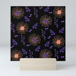 Orange Flowers Mini Art Print