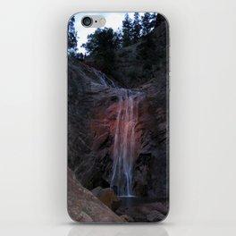 A Summer Waterfall iPhone Skin