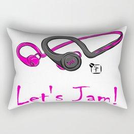 Let's Jam!! Rectangular Pillow