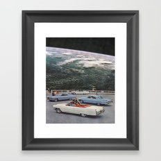 The Lookout Framed Art Print