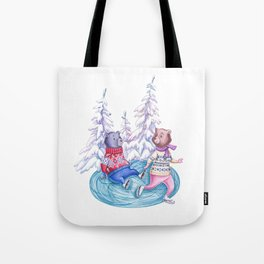 Clumsy Bear Tote Bag