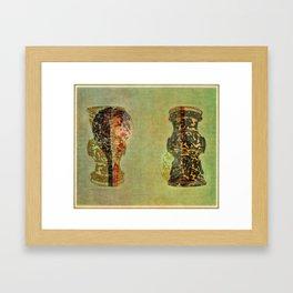 Urns Framed Art Print