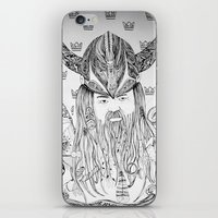 viking iPhone & iPod Skins featuring Viking by Infra_milk