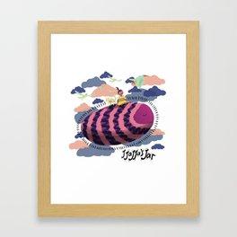 Jjjajja's Jar Volpa Framed Art Print