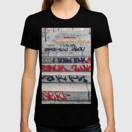Croix Rousse stairs T-shirt