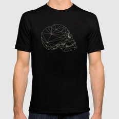 Skull 2X-LARGE Black Mens Fitted Tee