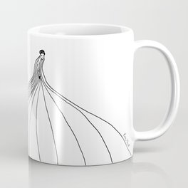 All of a sudden she vanished ... without a trace. Coffee Mug