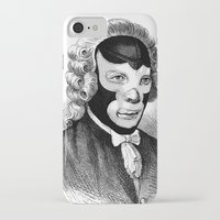 wrestling iPhone & iPod Cases featuring WRESTLING MASK 4 by DIVIDUS