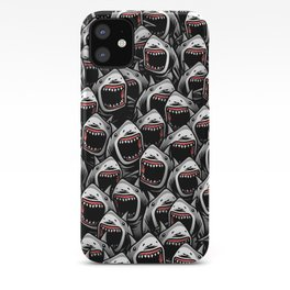 Great white sharks iPhone Case