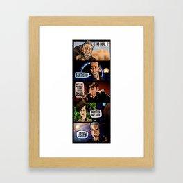 New Who Framed Art Print