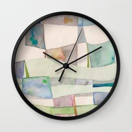 The Clothes Line Wall Clock