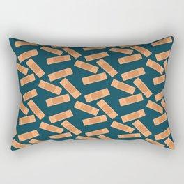 Bandaid Solution Rectangular Pillow