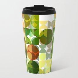 Cactus Garden Abstract Circles 3 Travel Mug
