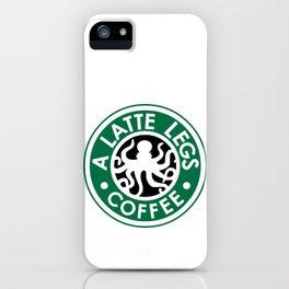 A Latte Legs :: Coffee iPhone Case