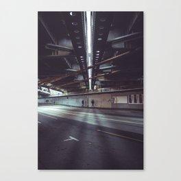 i am vertical Canvas Print