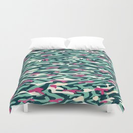 pink n' blue 2 Duvet Cover