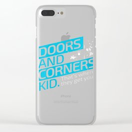Womens The Expanse Doors and Corners V-Neck T-Shirt Clear iPhone Case
