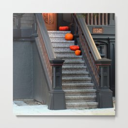 Two Dark Squats, Two Light Rounds Metal Print