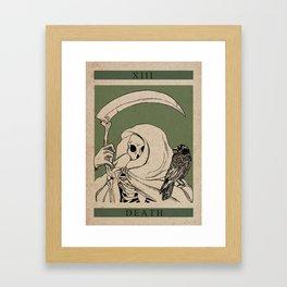 Death Gerahmter Kunstdruck
