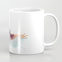 Pink Robin Bird Coffee Mug
