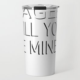 Lager Will You Be Mine Funny Craft Beer Valentines Design Travel Mug