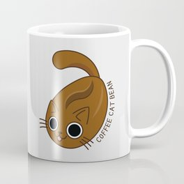 Coffee Cat Bean Mug