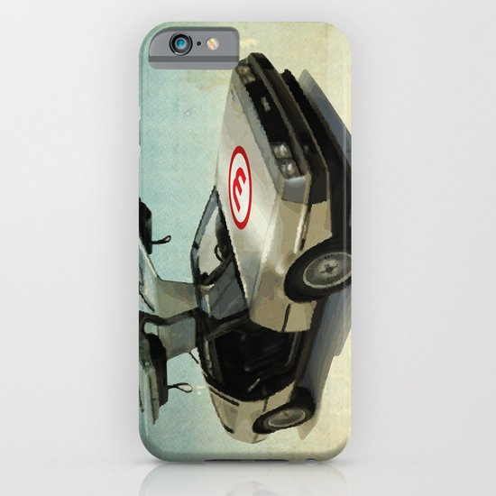Number 3 - DeLorean iPhone & iPod Case