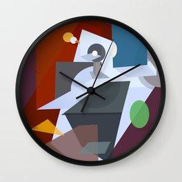 The stolen planet Wall Clock