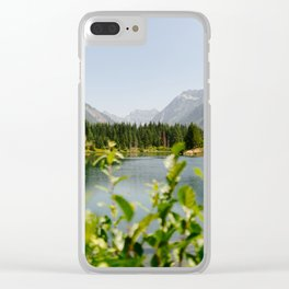 Gold Creek Pond Clear iPhone Case