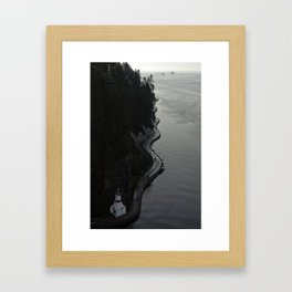 Stanley Park Sea Wall Framed Art Print