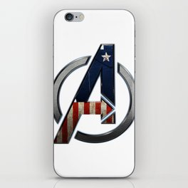 UNREAL PARTY 2012 THE AVENGERS  CAPTAIN AMERICA  iPhone Skin