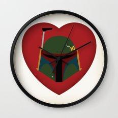 Fett Love (Boba Fett) Wall Clock