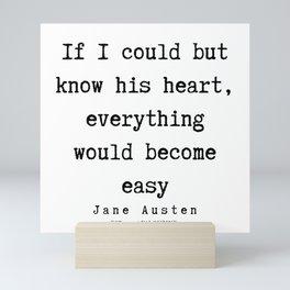 36     | Jane Austen Quotes | 190722 Mini Art Print