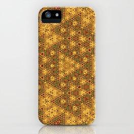 Sunny pattern iPhone Case