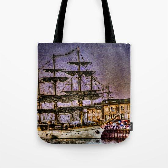 "Tall Ship ""Mircea"" Tote Bag"