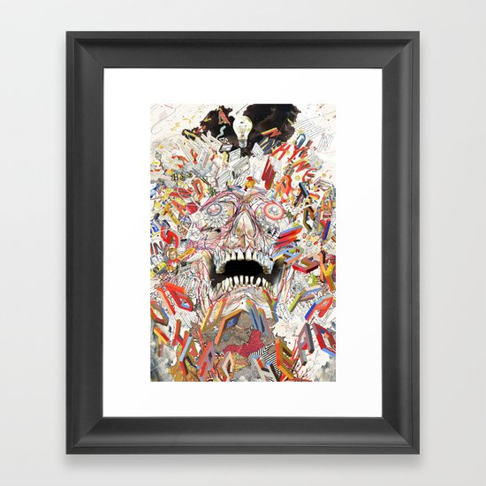 KN/PC: Infinite Jest Framed Art Print